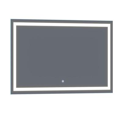 Lumina 60 in. x 36 in. Frameless LED Wall Mounted Lighted Vanity Mirror with Built-In Dimmer and Anti-Fog Feature