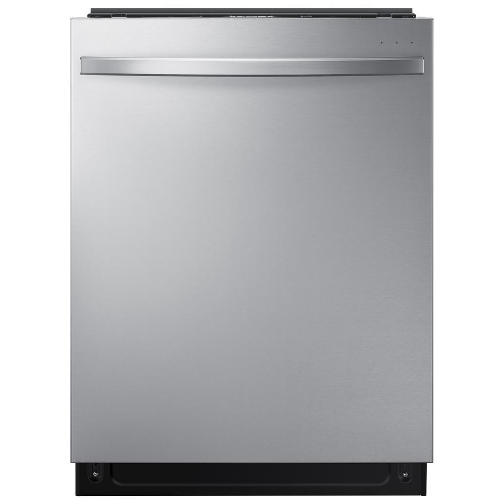 Samsung 24 in Top Control StormWash Tall Tub Dishwasher in Stainless Steel with AutoRelease Dry and 3rd Rack, 42 dBA