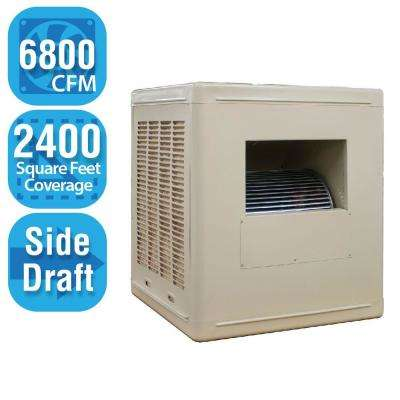 6,800 CFM Side-Draft Aspen Roof/Side Evaporative Cooler for 20 in. Ducts 2,400 sq. ft. (Motor Not Included)