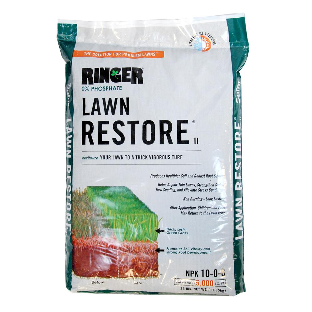 Safer Brand 25 lb. Ringer Lawn Restore II Fertilizer