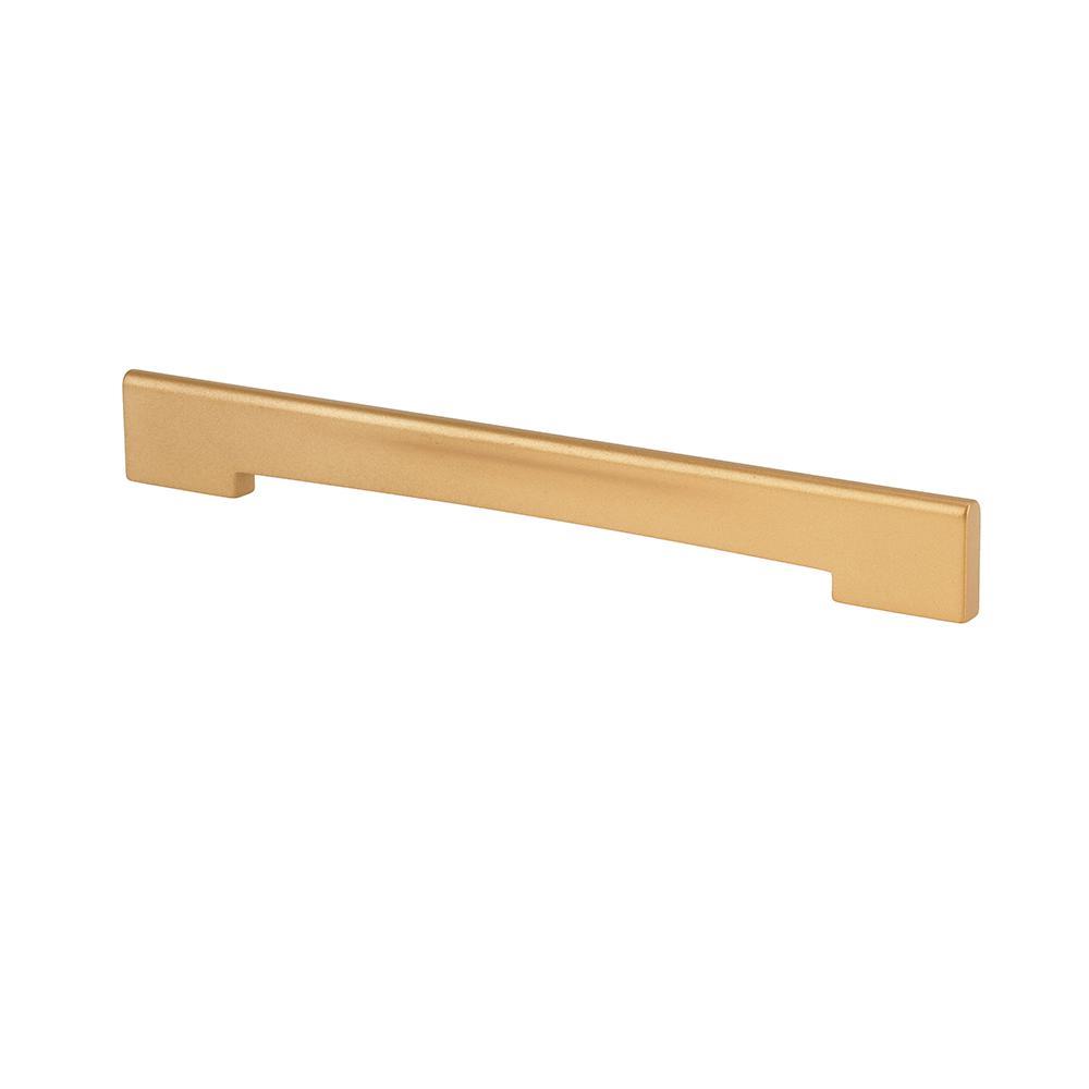 Center To Center Matte Brass Thin Profile Cabinet