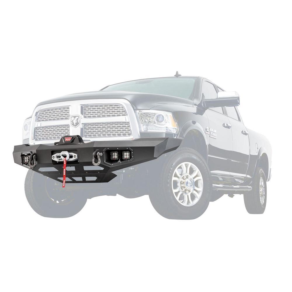 Truck Front Bumper >> Warn Ascent Front Bumper For Ram 2500 3500