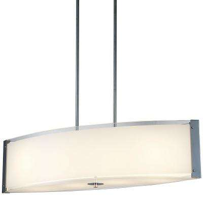 Bailey III 4-Light Chrome Pendant