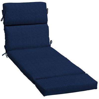 23 x 48 Outdoor Chaise Lounge Cushion in Sunbrella Spectrum Indigo