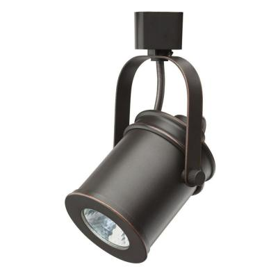 Bronze Integrated LED Spotlight Track Lighting Head