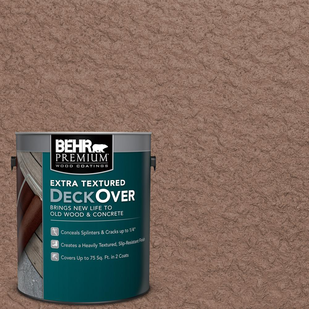 1 gal. #SC-148 Adobe Brown Extra Textured Solid Color Exterior Wood