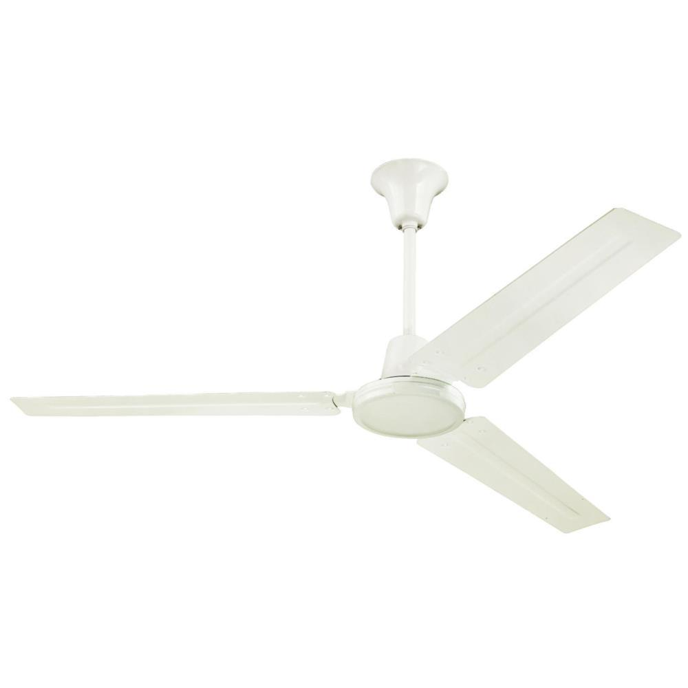 Westinghouse Industrial 56 in. Indoor White Ceiling Fan