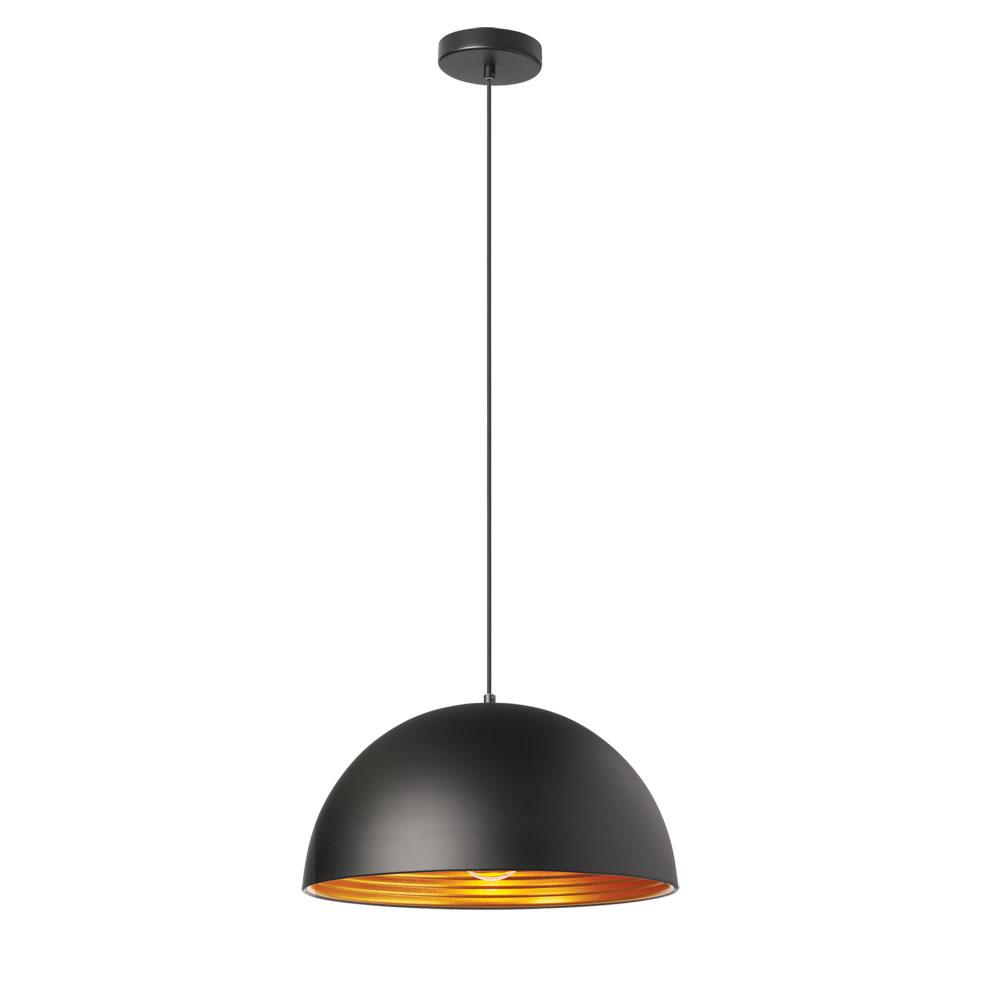 Filament Design 1-Light Matte Black Pendant
