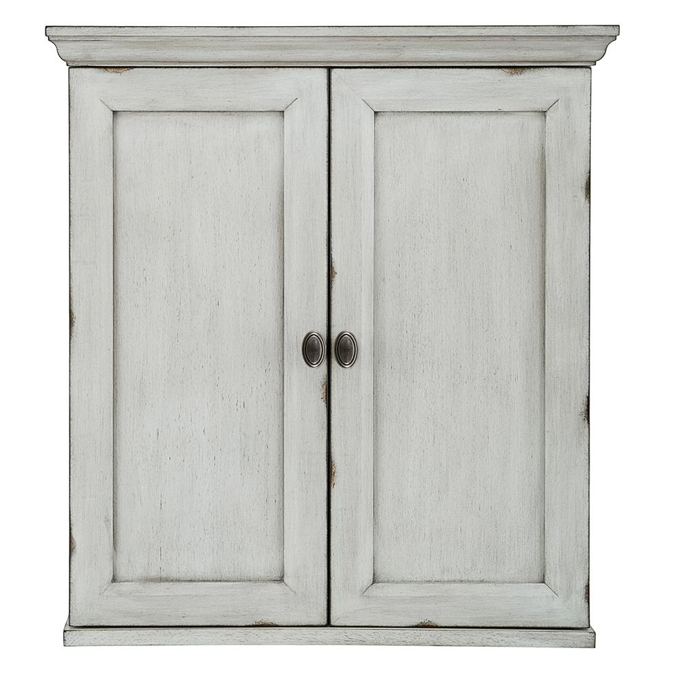 Foremost Teagen 25 3/8 in. W Wall Cabinet in Vintage Grey