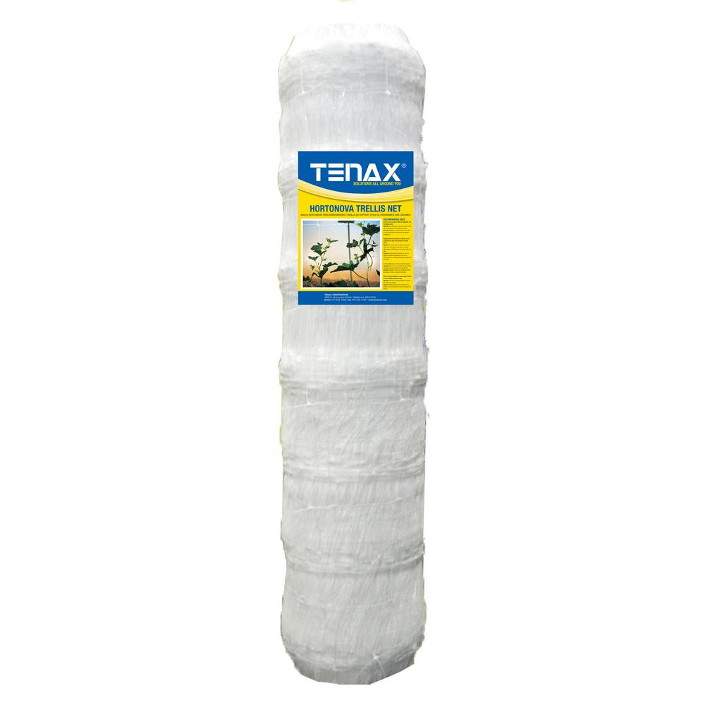 67 in. x 3280 ft. White Hortonova Plant Trellis Net