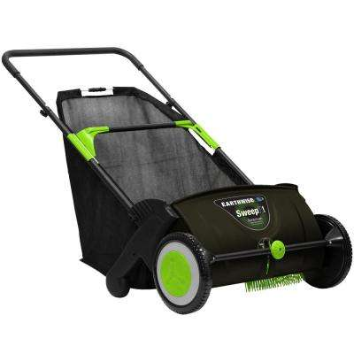 21 in. Sweep-It Push Lawn Sweeper with 2.61 Bushel Collection Bag