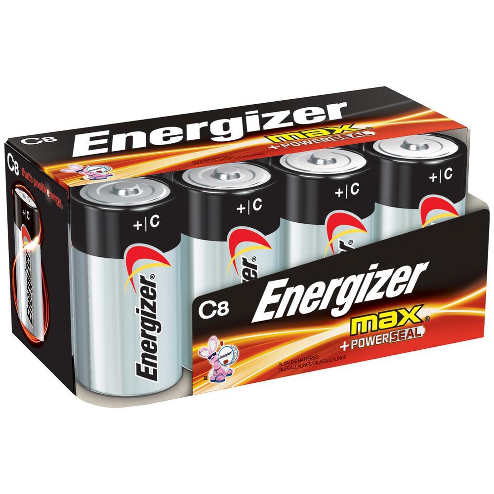 Energizer Alkaline C Battery (8-Pack)-E93FP-8 - The Home Depot