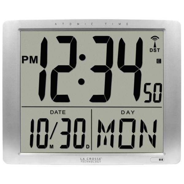 20 in. Extra Large Digital Atomic Wall Clock