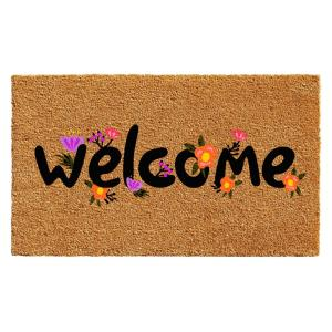 Home & More Spring Welcome Door Mat 17 inch x 29 in. by Home & More