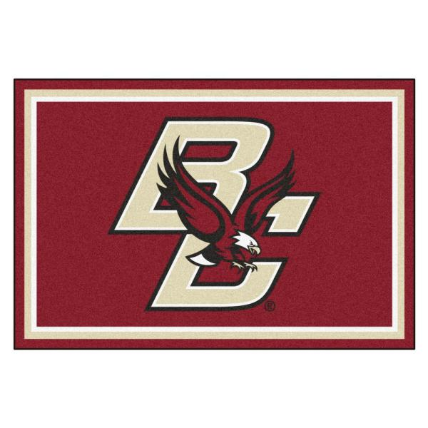 NCAA - Boston College Red 8 ft. x 5 ft. Indoor Area Rug