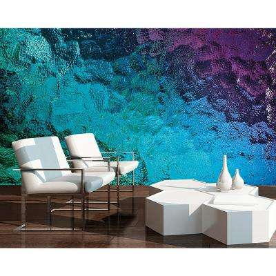 Colored Glass Wall Mural