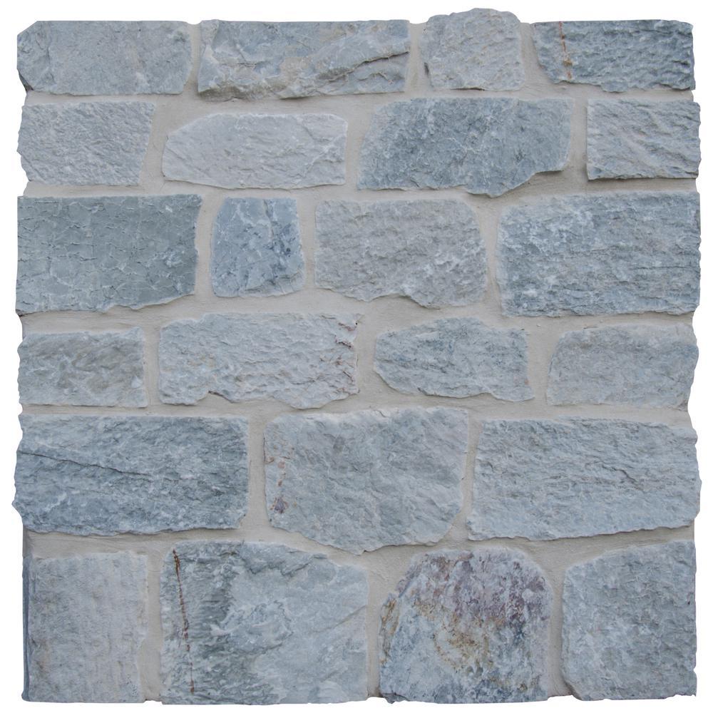 Temple Gray Natural Limestone Wall Loose Veneer (100 sq. ft. / pallet)