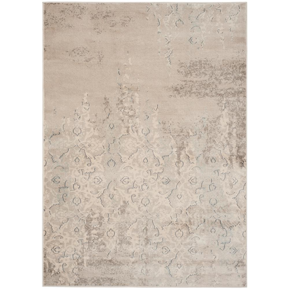 Vintage Gray/Ivory 4 ft. x 5 ft. 7 in. Area Rug