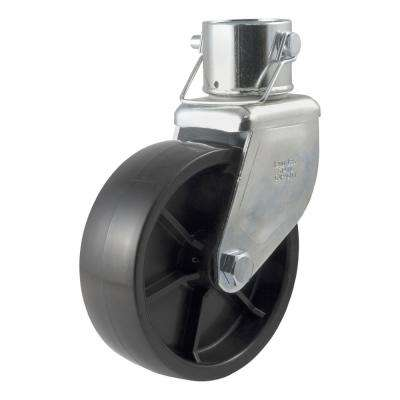 """6"""" Jack Caster (Fits 2"""" Tube, 2,000 lbs., Packaged)"""