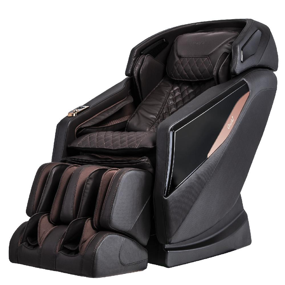 TITAN OSAKI OS-PRO Yamato Brown Faux Leather Reclining Massage Chair was $3999.0 now $2399.0 (40.0% off)