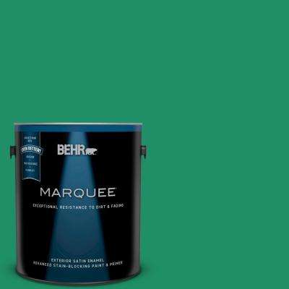 1-gal. #MQ4-15 Balsam Satin Enamel Exterior Paint