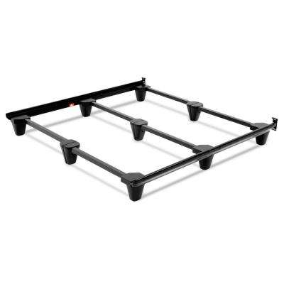 Presto Universal Size Steel Bed Frame, Charcoal