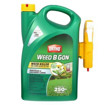 Weed B Gon 1 Gal. Weed Killer For Lawns Ready-To-Use Trigger