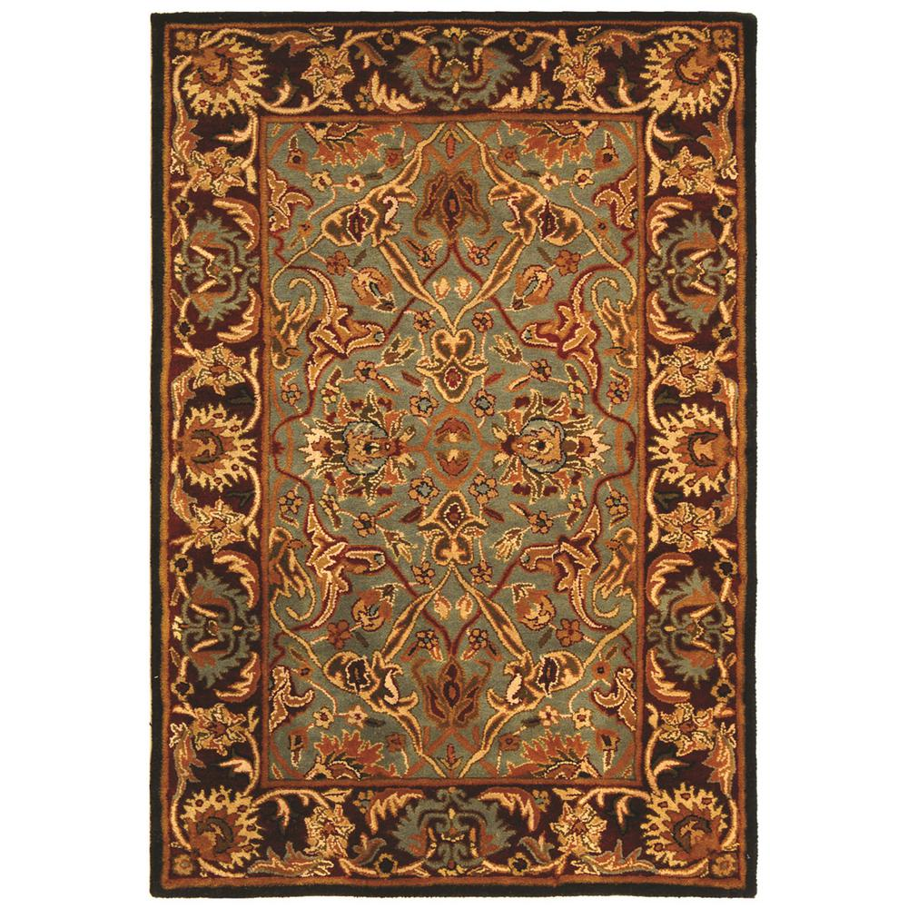 Safavieh Heritage Light Blue/Red 4 Ft. X 6 Ft. Area Rug