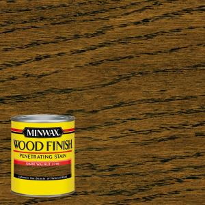 Minwax 1 Qt Wood Finish Dark Walnut Oil Based Interior