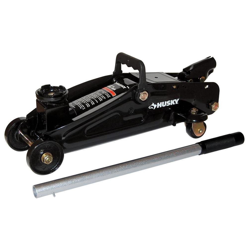 Husky 2 Ton Hydraulic Trolley Jack Mpl4136 Blk The Home