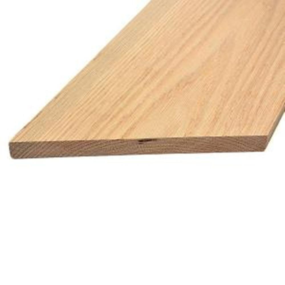 1 in. x 12 in. x 8 ft. Oak Board
