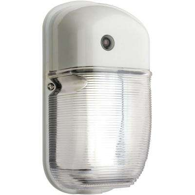 Wall-Mount Outdoor White Fluorescent Light Mini Pack