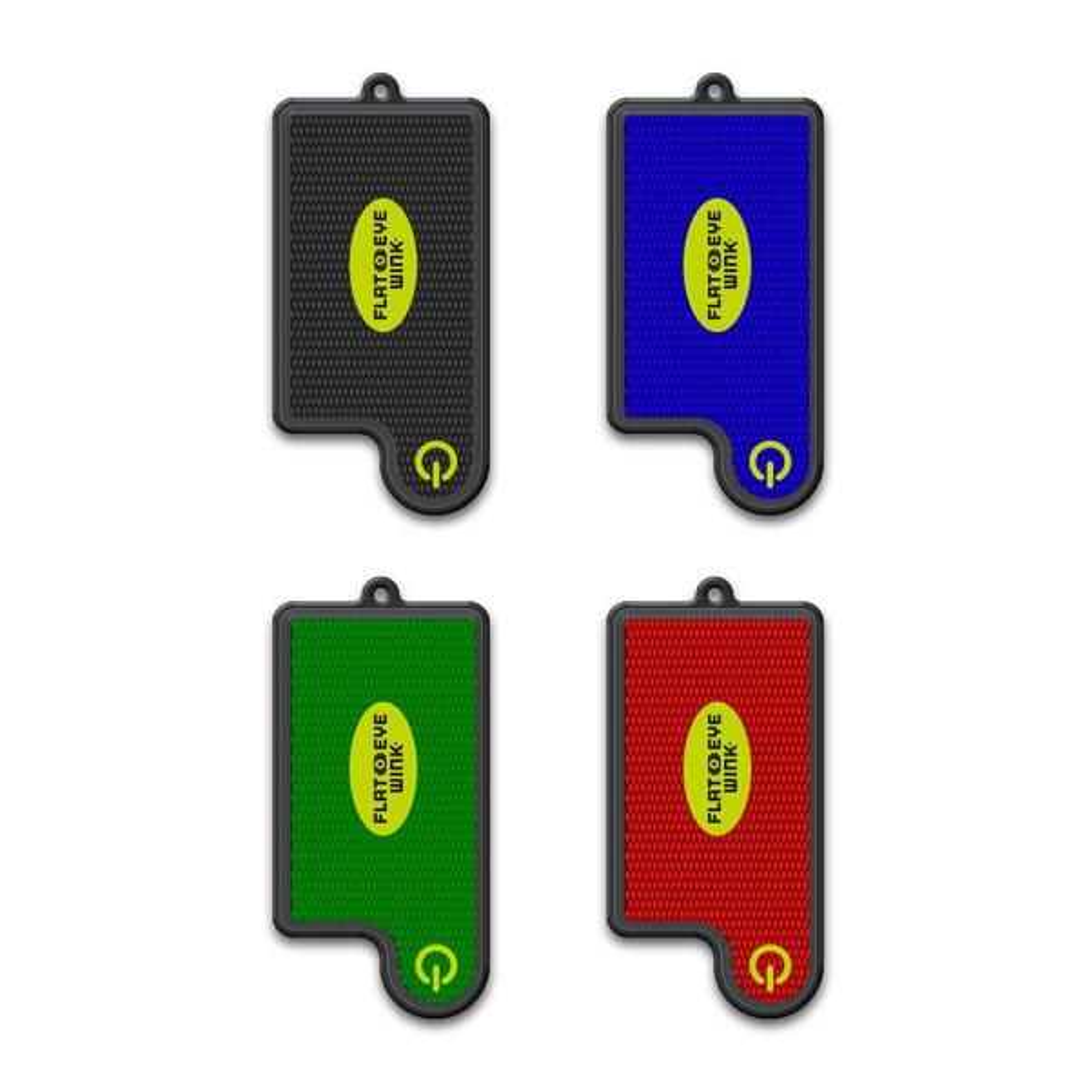 FLATEYE WINK Mini Led Flashlight - Lightweight, Super Bright, Keychain Style Flashlight (4 Pack)