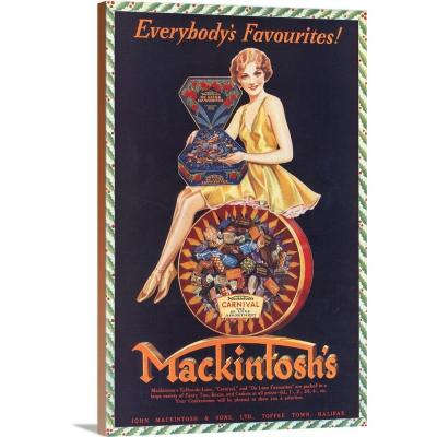 """""""Mackintosh's Candies"""" by Advertising Archives Wall Art"""