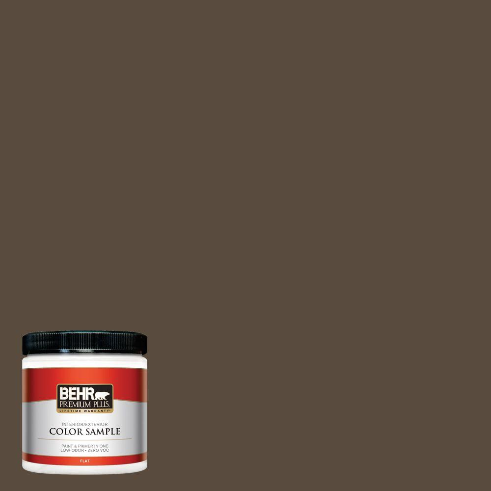 BEHR Premium Plus 8 oz. #S-H-710 Dried Leaf Interior/Exterior Paint Sample