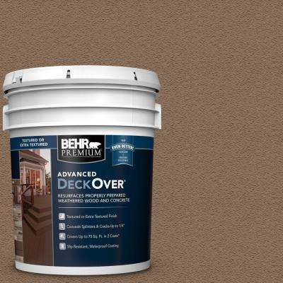 5 gal. #SC-147 Castle Gray Textured Solid Color Exterior Wood and Concrete Coating
