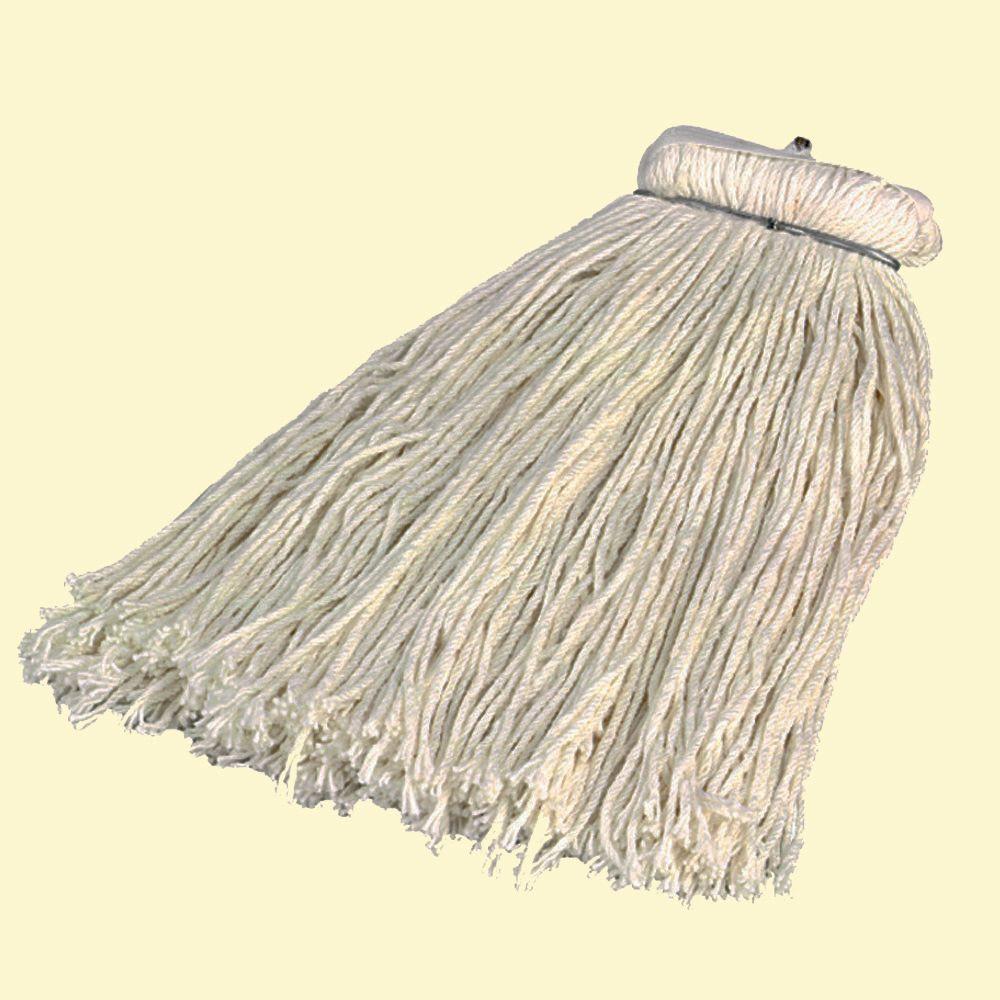 24 Rayon Kwik-On Screw-On Head Wet Mop (Case of 12)