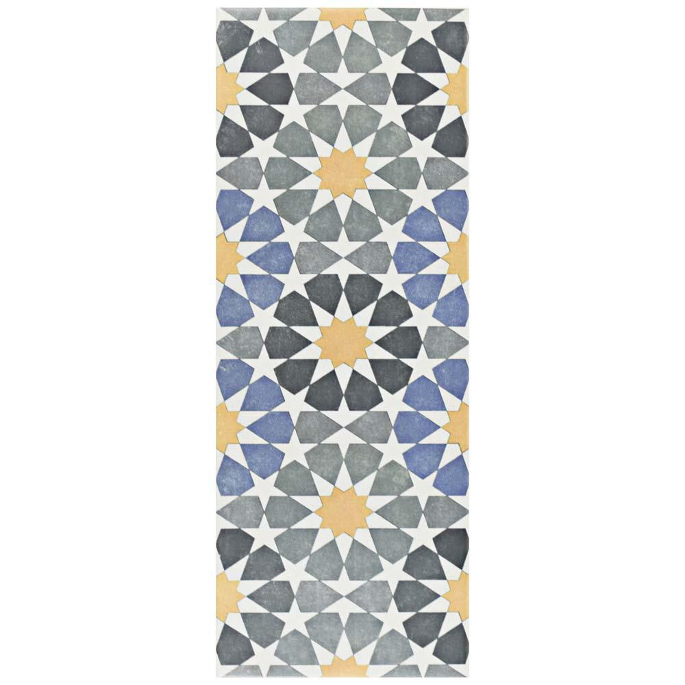 Merola Tile Artline Star In X In Ceramic Floor And - Ceramic tile star designs