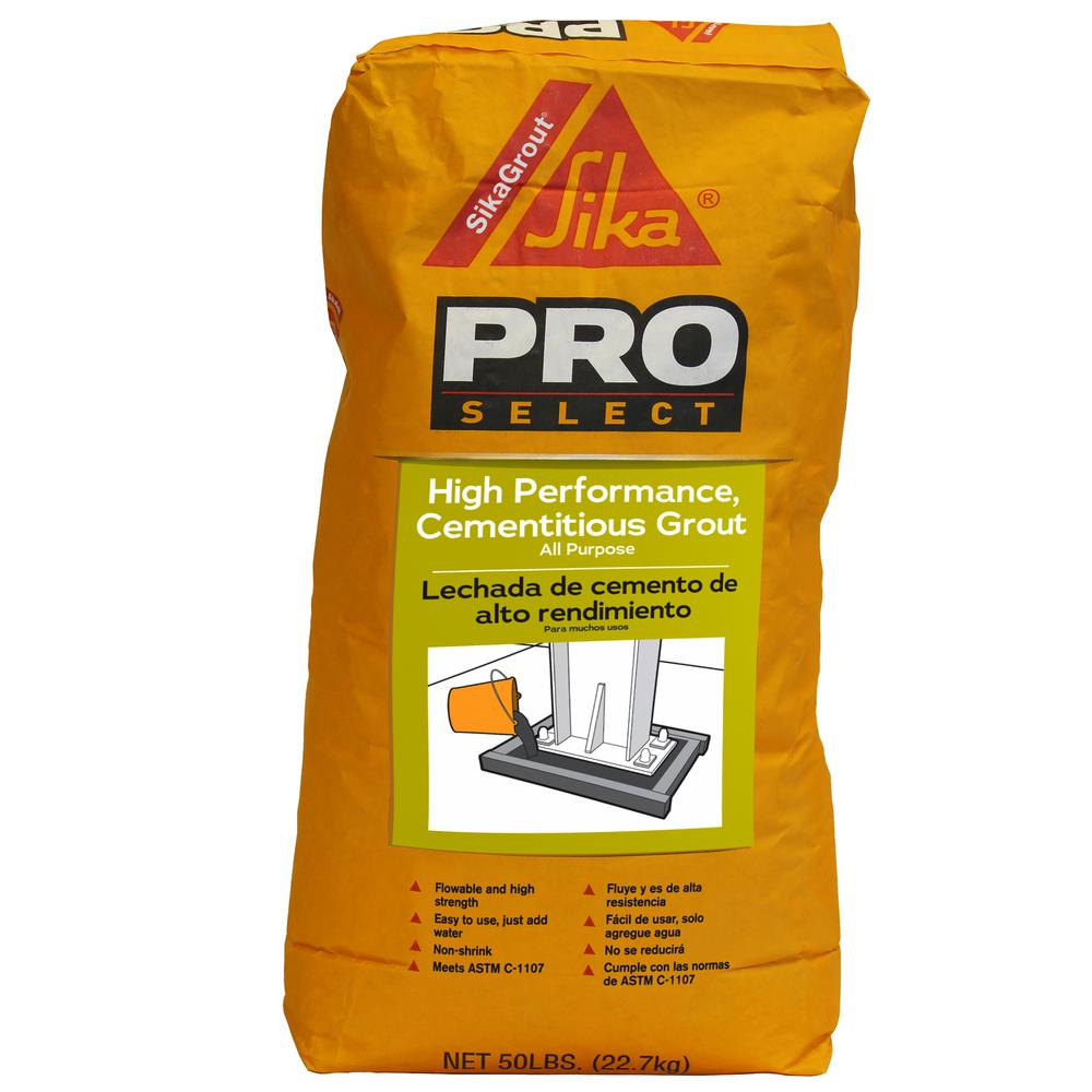 SikaGrout 50 lb. High Performance Grout