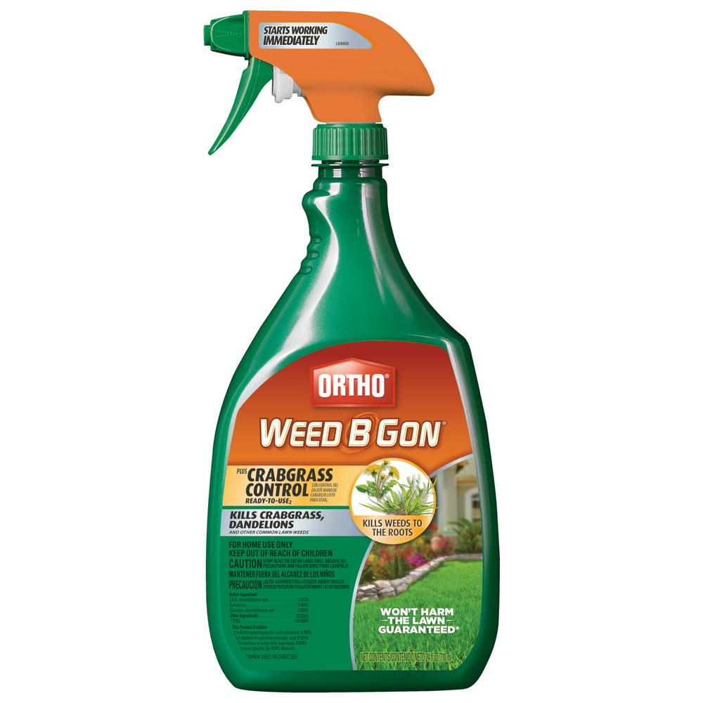 Ortho Weed B Gon 24 oz. Plus Crabgrass Control Ready-To-Use2