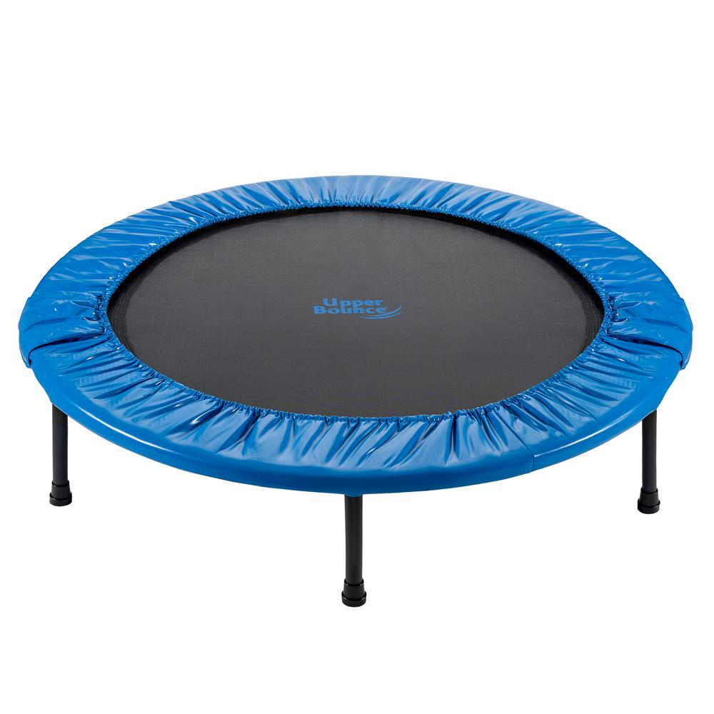 Upper Bounce 40 In. Mini Foldable Rebounder Fitness