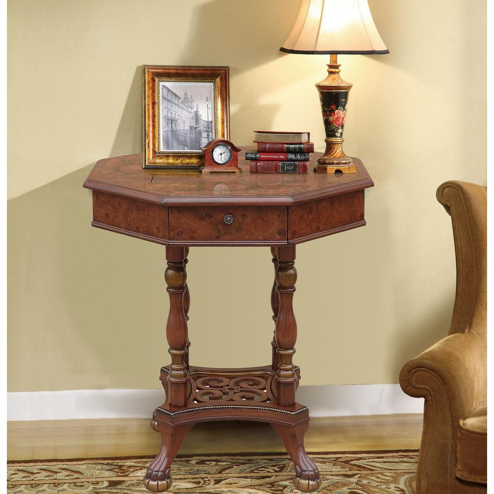 Antique Reproduction Game Table - Antique Reproduction Game Table-DWT-324 - The Home Depot