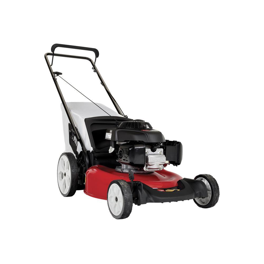 Recycler 21 in. 160 cc Honda Engine High-Wheel Gas Walk Behind Push Lawn Mower