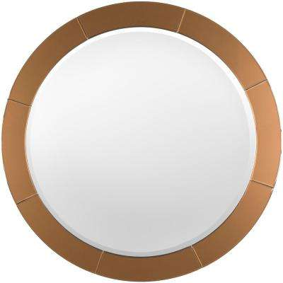 Jaya 37.8 in. x 37.8 in. Contemporary Framed Mirror