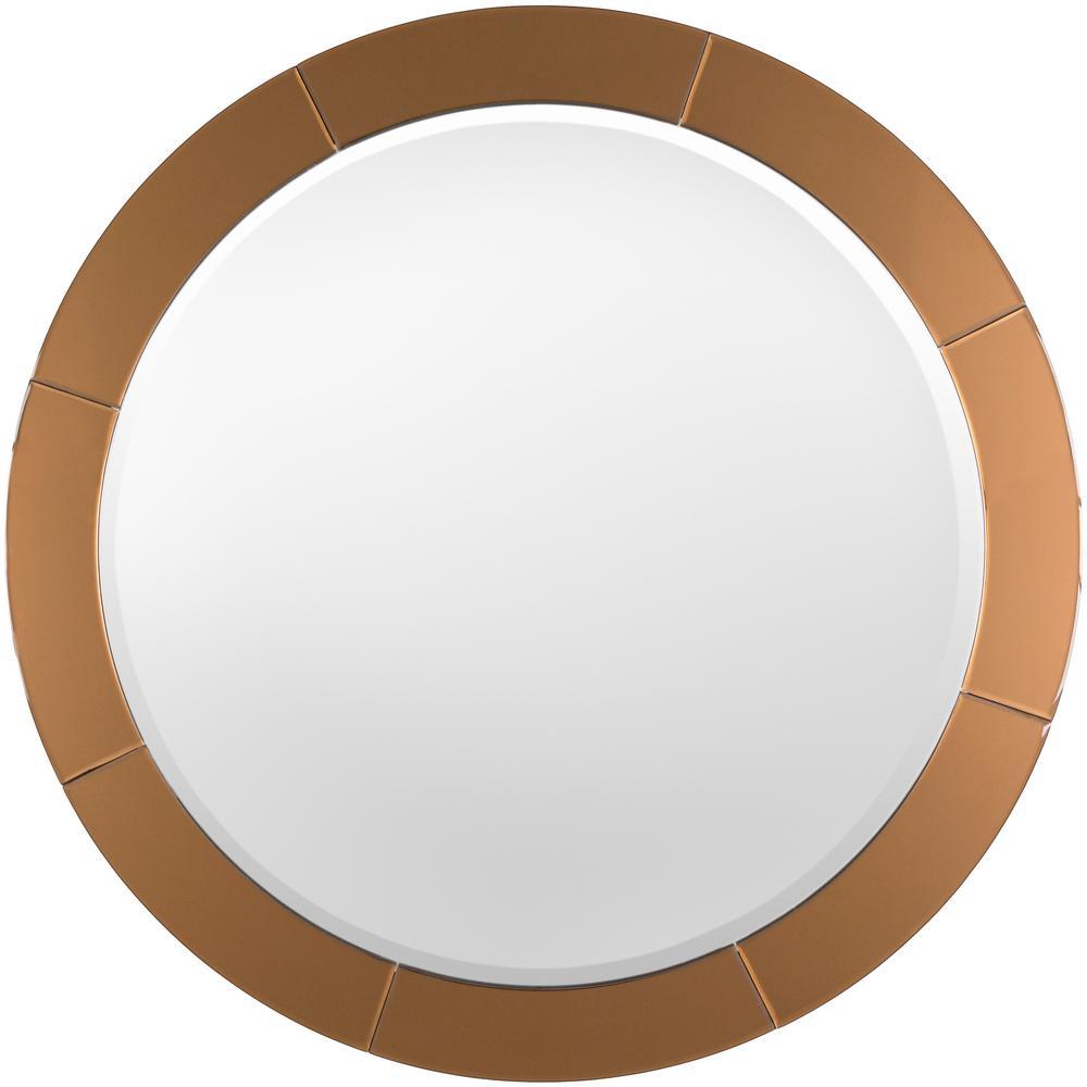Jaya 37.8 in. x 37.8 in. Contemporary Framed Mirror