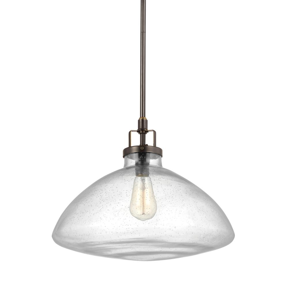 Belton 1-Light Heirloom Bronze Pendant