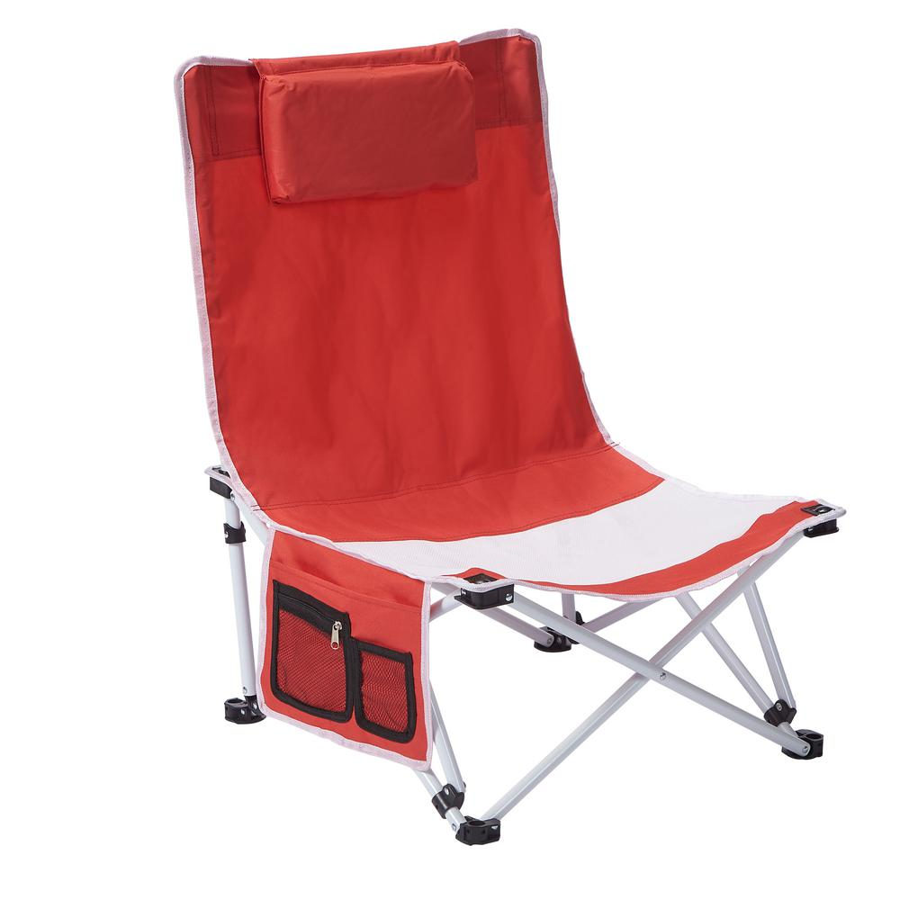 Terrific 1 Position Beach Patio Chair 5600415 The Home Depot Gmtry Best Dining Table And Chair Ideas Images Gmtryco