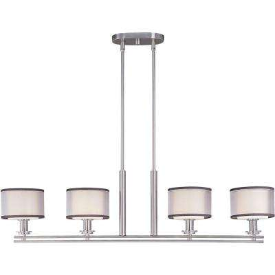 Orion 4-Light Satin Nickel Pendant