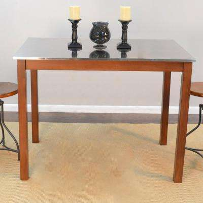 Carter Chestnut Brown Bar Table