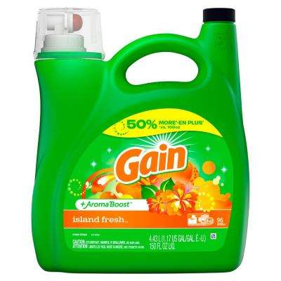 150 oz. Island Fresh Liquid Laundry Detergent (96 Loads)